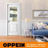 Porta lisa de madeira branca da porta interior de Singel da laca de Oppein (MSPD74)
