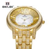 Horloge van het Kwarts van de Riem van het Roestvrij staal van het Horloge van de Dames van de Manier van Belbi het Hoge Eenvoudige Toevallige Waterdichte