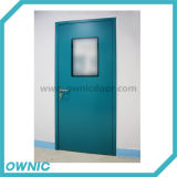 Puerta industrial vendedora caliente del oscilación manual Idpm-1