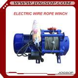 持ち上がる貨物は3トンの電気ウィンチを機械で造る