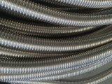 Boyau ondulé de métal flexible de spirale mécanique