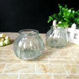 Gebrochener Kürbis-geformtes Glaslampenschirm-Glas