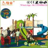 Matériel extérieur de cour de jeu d'arrière-cour pour des gosses, jeux de cour de jeu d'arrière-cour d'enfants
