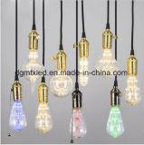 Los bulbos LED de MTX LED encienden las luces para el hogar, bombillas de la lámpara LED del LED de MTX LED que EL CE ST64 calienta la iluminación estrellada blanca de la decoración del bulbo del ahorro de la energía 3W LED