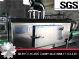 linha de enchimento rachada da água de frasco 2000bph com o túnel Shrinking da etiqueta