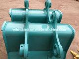 歯を搭載するKobelco Sk120 Sk200 Sk250の掘削機のバケツをカスタマイズしなさい
