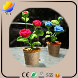 Belle plante verte émulational pour la personnalité Articles d'ameublement