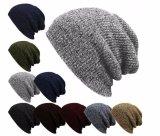高品質によって編まれる帽子の冬の帽子の空想のステッチの帽子