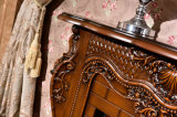 セリウムの証明書(330)が付いている木製のホテルの家具のヒーターの電気暖炉