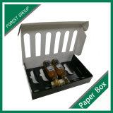 Boîte faite sur commande à bière de paquet de six d'impression d'or avec le diviseur
