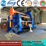 Máquina de laminado hidráulico de 4 rodillos CNC con Ce Standard