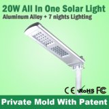 Nouveau Design Motion Sensor Light 16 LED 20W Solar Street Light Liste des prix China Solar Lanterns