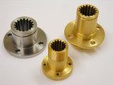CNCの機械化の部品、機械で造られたアルミニウム部分