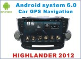 Новый Stereo автомобиля Android 6.0 Ui на горец 2012 Тойота с автомобилем GPS