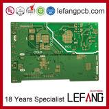 1.6mm 2layer doppelter mit Seiten versehener OSP Oberflächenbehandlung-industrielles Geräten-Steuer-Schaltkarte-Vorstand