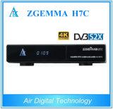 Новый приемник Zgemma H7c 4k Uhd спутниковый с Bcm7251s тюнеры DVB-S2X + 2*DVB-T2/C 3