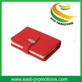 Caderno de couro do plutônio da folha solta