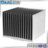 Disipador de calor de aluminio/de aluminio del perfil de la protuberancia