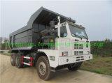 HOWO 6X4 371HP 판매를 위한 유압 광산 덤프 트럭