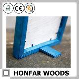 Het rustieke Blauwe Stevige Houten Frame van de Foto van het Beeld voor de Decoratie van het Huis