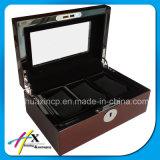 Luxuxzoll lackierte Uhr-Verpackungs-Kasten-hölzernen Kasten