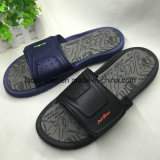 Pattino-Uomini sandalo Pattino-Casuale dell'uomo dell'azzurro e di Shoe-Black