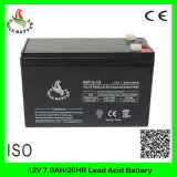 bateria recarregável acidificada ao chumbo do armazenamento do AGM VRLA de 12V 7ah Mf