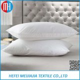 Almohadilla material 100% de la pluma del ganso del algodón de la venta al por mayor