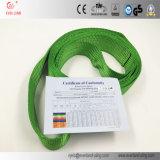 Imbracature di sollevamento infinite della tessitura da 2 tonnellate per il sollevamento sicuro con l'alta qualità