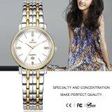 Montre de luxe de quartz de femmes de montre-bracelet avec l'aftichage analogique 71120