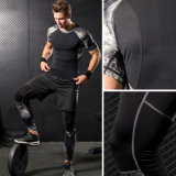 Cool Design Men's Three-Piece Running Basketball Training Compression Tight Sportswear