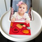 Высокое качество BPA освобождает младенца Placemat силикона с сильным всасыванием