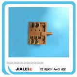 Interruptor eléctrico del engranaje de interruptor rotatorio del horno