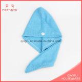 Strickender Gewebe Microfiber Haar-trockenes Tuch-Haar-Turban