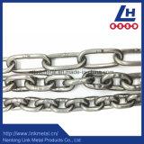 Catena saldata DIN5685A/C dell'acciaio inossidabile