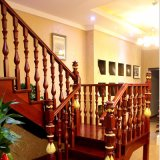 Home Staircase Fabricant Escaliers en spirale en bois (GSP16-005)