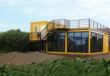 Camera di lusso modulare del contenitore della Camera prefabbricata