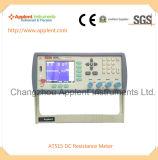 高リゾリューションおよび高精度のDCの抵抗のメートル(AT515)