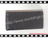 Бумажник муфты 2015 черных повелительниц PU способа плоский