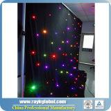 こんにちは涼しいナイトクラブはLEDの星のカーテンを飾る