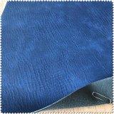 Couro do plutônio da espessura do falso 1.3mm de China & couro sintético artificial para o saco