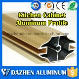 Profilo di alluminio del bordo dell'armadio da cucina del fornitore di profilo con rivestimento anodizzato del laminatoio