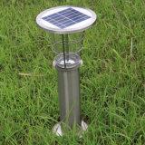 Edelstahl-Solarrasen-Licht für Garten und im Freien