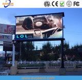 P12.5 cartelera al aire libre impermeable del ahorro de la energía LED