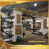 6 machines flexographiques de machine d'impression de la couleur OPP/PE/LDPE Flexo