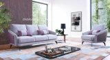 居間の現代昇進のソファーは高品質ファブリックとセットした