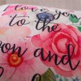 Progettare la cassa per il cliente del cuscino stampata tela del cotone senza farcire (35C0020)