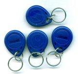 Étiquette imprimable de chaîne principale de Keyfob de contrôle d'accès d'IDENTIFICATION RF de Smart Card