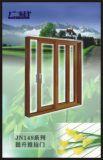 El doble esmaltó la puerta de desplazamiento de aluminio de la elevación con el estándar de Australia