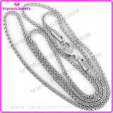 De in het groot Ketting van het Roestvrij staal van de Ketting van de Doos van de Toon van China van Juwelen Zilveren